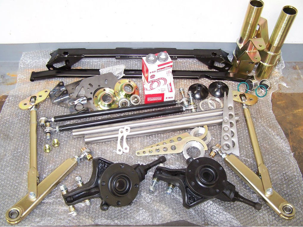 106 and Saxo Front suspension kit - STD width